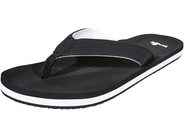 Sanük Burm Shoes Men black/white